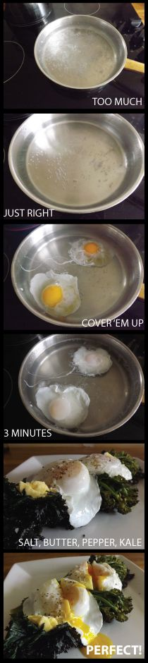 Perfect Poached Eggs - The Foolproof Method
