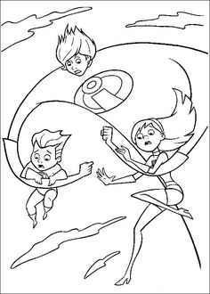 41 best incredibles coloring pages
