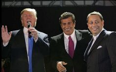 "Trump toasting a controversial Russian ""businessman"" at a party in 2005 as, ""my friend."""
