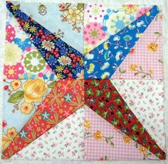 A VERY EASY PAPER PIECED BLOCK