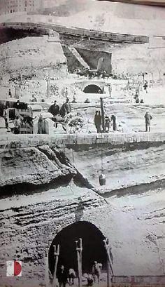 Malta Valletta, Train Tunnel, Mediterranean Sea, Archipelago, Old Photos, Mount Rushmore, Gate, Island, Maltese