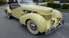 Restored In The 70s: 1937 Cord Roadster - http://barnfinds.com/restored-in-the-70s-1937-cord-roadster/