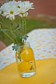Lemons in the jars