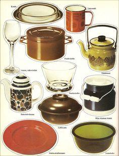 Hilja, hiljainen hinkki Kitsch, 1970s Aesthetic, Retro Vintage, Vintage Items, All Kinds Of Everything, Old Commercials, Marimekko, Old Toys, Finland