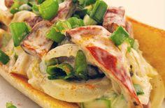 """""""Lobster"""" Rolls with Lobster Mushrooms! #vegan"""