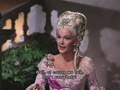 Jean Hagen as Lina Lamont in Singing in the Rain (1952). Cracks me up every. single. time.