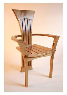 oak outdoor chair Click pic to close this window Wooden Sofa Set Designs, Wood Chair Design, Wood Design, Cube Furniture, Unique Furniture, Furniture Design, Furniture Makers, Stool Chair, Diy Chair