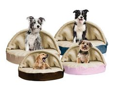 Like a plush sleeping bag, the Furhaven Round Faux Sheepskin Snuggery Orthopedic Dog Bed is perfect for cozy, comfy burrowing. The orthopedic. Dog Cave, Dog Costumes, Pet Beds, Dog Supplies, Your Pet, Dog Training, Training Schedule, Dachshunds, Dog Beds