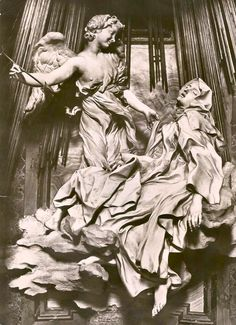 The Ecstasy of St. Theresa. 17th century work by Bernini