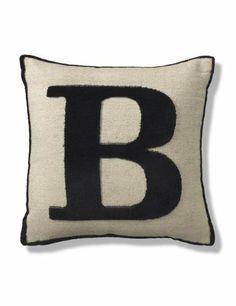 Letter B Cushion-Marks & Spencer
