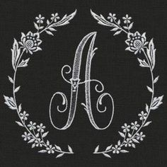 Enchanting Monograms - an embroidery collection of 62 designs for all your alphabet needs.