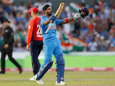 KL Rahul celebrates after reaching century against England. (Reuters Photo)
