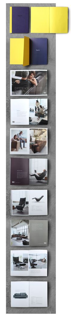 don't liek the yellow or deep purple but love the layouts /Brand and product catalogue book. VisualCast Designogy Indonesia