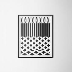Plakat Black and White  w 4rooms na DaWanda.com