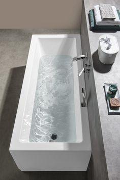 NOEMI obdélníková vana 170x70x39cm, bílá : SAPHO E-shop Bath Screens, Bathtubs, Bathroom, Shopping, Washroom, Bathtub, Bath Tube, Full Bath, Bath
