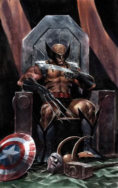Wolverine Kills the Marvel Universe Marvel Dc Comics, Bd Comics, Marvel Comic Universe, Marvel Heroes, Marvel Characters, Iron Man Wallpaper, Marvel Wallpaper, Iron Man Pictures, Fitness Inspiration