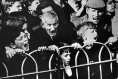 Roger Mayne - Crowd, Cup Tie - Arsenal v Liverpool
