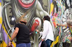 Ron Wood revê amigo brasileiro e grafita boca do Rolling Stones em SP #Brasil, #Gente, #M, #Popzone, #RollingStones, #Show http://popzone.tv/2016/02/ron-wood-reve-amigo-brasileiro-e-grafita-boca-do-rolling-stones-em-sp.html