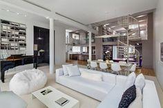 simplicité et élégance, pour cette résidence à Soho decodesign / Décoration