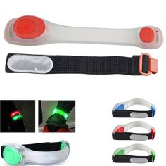 Practical Night Running Led Arm Band Warmer Belt Reflective Belt Night Run Armband For Outdoor Sport Arm Strap Luminous Wristband Baseball A Wide Selection Of Colours And Designs Running Arm Warmers