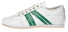 Zeha Berlin - Klassiker - Sneaker - bianco verde - Weiss Grün - white green - www.zeha-shop.de