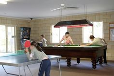 Bring the whole family for some fun playing on the pool table and our other facilities!