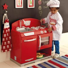 Our Retro Play Kitchen - is a unisex design that will keep the children busy with hours of entertainment to be had! http://www.gltc.co.uk/retro-play-kitchen//gltc/fcp-product/10000001742