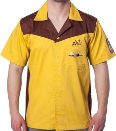 Authentic Replica Big Lebowski Bowling Shirt