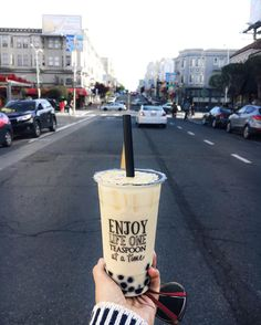 Every neighborhood needs a bubble tea place. Founds this one on Polk street by daywithsasha