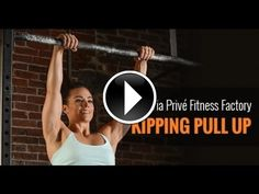 Camille Leblanc-Bazinet shows you how to master the Butterfly Kipping Pullup.