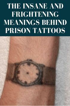 These days, tattoos aren't just the hallmark of an outlaw or a criminal. In fact, they're more likely to denote a barista or frat boy than they are a scourge of society. But in prisons and the criminal underworld, tattoos convey secret meanings that let other criminals know who exactly they're dealing with.Take a look at these freaky meanings behind tattoos and keep an eye out for them when sizing up strangers.
