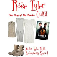 """""""Doctor who The Day Of the Doctor Rose Tyler Outfit"""" by clararycbar on Polyvore"""