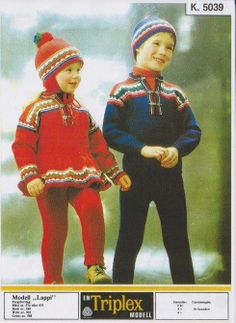 Lappi k 5039 Vintage Knitting, Ikon, Embroidery Patterns, Christmas Sweaters, Winter Hats, Blue And White, Crochet, Finland, Fashion
