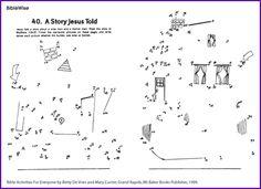 Parable Wise Man & Foolish Man (Dot-to-Dot) - Kids Korner - BibleWise Sunday School Activities, Bible Activities, Sunday School Lessons, Sunday School Crafts, Bible Story Crafts, Bible Stories, Bible Lessons For Kids, Bible For Kids, Wise And Foolish Builders Activities
