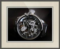 "Invicta Russian Diver Mechanical Skeleton Watch // Paper: enhanced matte; Glazing: acrylic; Moulding: silver, florentine gray loft; Top Mat: black/gray, blackcore ivory black; Middle Mat: black/gray, dover gray; Bottom Mat: white/cream, pure white // Price starts at $154 (Petite: 18.75"" x 20.75""). // Customize at http://www.imagekind.com/Invicta-Russian-Diver-Mechanical-Skeleton_art?IMID=e3b6efc6-0a22-44a8-ae0e-e7de295e2c0b"