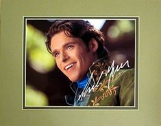 Disney Cinderella Live Action Film Richard Madden As Prince Autographed Matted Photo 8x10 to 11x14 @ niftywarehouse.com