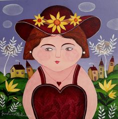 Tessa by Justin Abelman Naive Artist Berlin Art, Naive Art, Disney Characters, Fictional Characters, Snow White, Africa, Disney Princess, Gallery, Artist