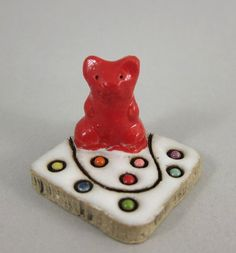 MyLand - Candy Time  - Collectible 3x3 cm or 1.2x1.2 in. puzzle in stoneware