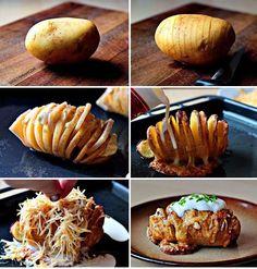 A tökéletes héjában sült krumpli. NyammNyamm | The best baked potato with cheese, bacon and sour