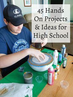 45 hands on projects & ideas for high school students учебные ресурсы, High School Students, School Fun, Middle School, High School Libraries, College Students, School Stuff, School Ideas, Biology Projects, School Projects