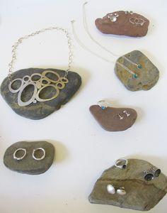 Handmade silver and enamel jewellery