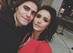 The Vampire Diaries | Paul Wesley (Stefan) and Nina Dobrev (Elena) - (2017)