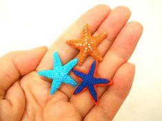 Micro Crochet Starfish Amigurumi Stuffed Animal  Made to by SuAmi