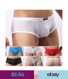 Underwear Men's Lace Underwear Boxer Briefs Shorts Underpants Trunks Panties Lingerie Hot #ebay #Fashion