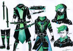 Antisepticeye reference sheet by Kazekumo-Muji2002 on DeviantArt