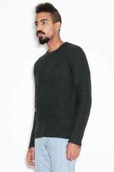 Maison Martin Margiela - Heavy Fisherman Sweater Dark Green  2a1f8d0e8fb26
