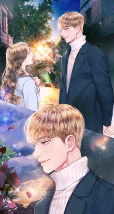 On a date late at night with my beloved Cute Couple Cartoon, Cute Couple Art, Anime Love Couple, Anime Couples Manga, Cute Anime Couples, Cute Anime Boy, Anime Art Girl, Anime Love Story, Anime Korea