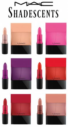 MAC Shadescents Collection pairs iconic MAC lipsticks and a matching fragrance!