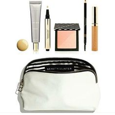 Welcome to the Beautycounter #3MinuteFace, a simple makeup routine, customized for every skin tone. Five safer, high-performing products, three minutes and one chic makeup bag, all for $125 (valued at $195). Shop here! www.beautycounter.com/sherrywesolowski