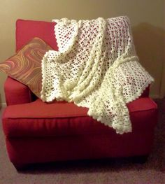 An afghan, wrap, or scarf to celebrate our spidery friends.